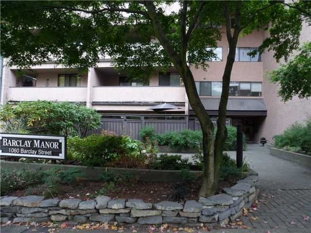 Barclay Manor   --   1060 BARCLAY ST - Vancouver West/West End VW #5