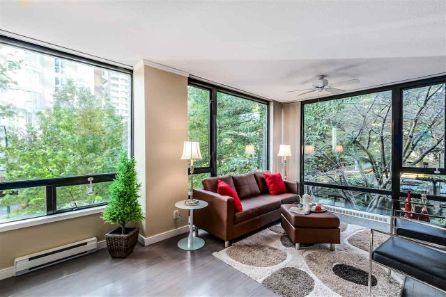 207 1003 BURNABY STREET - West End VW Apartment/Condo for sale, 1 Bedroom (R2005374) #2