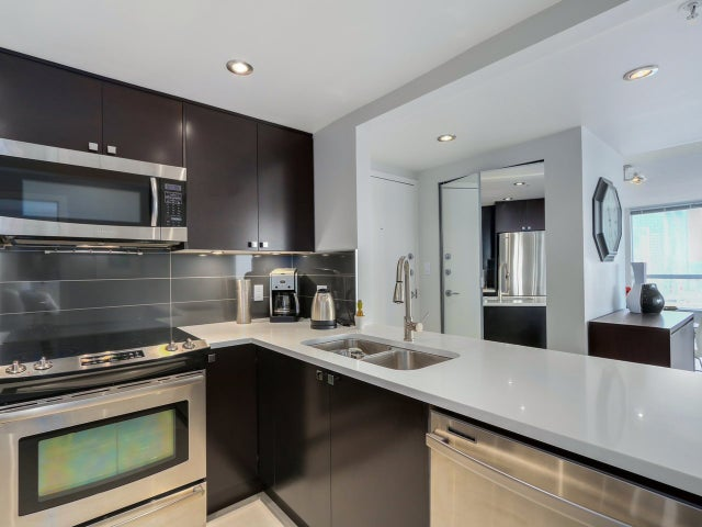 1503 907 BEACH AVENUE - Yaletown Apartment/Condo for sale, 1 Bedroom (R2035362) #8